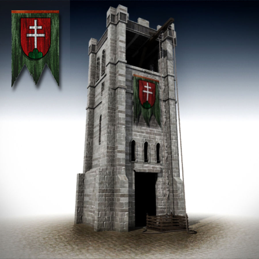 torre royalty-free 3d model - Preview no. 4