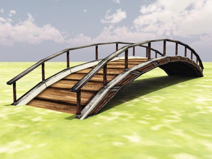 Bridge royalty-free 3d model - Preview no. 2