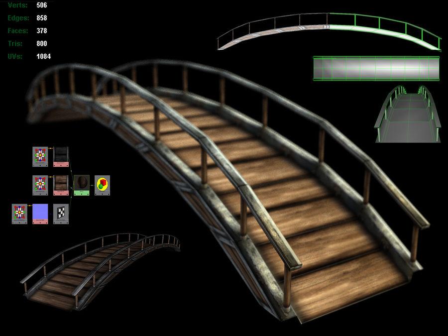 Bridge royalty-free 3d model - Preview no. 1