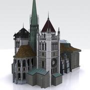 교회에 3d model