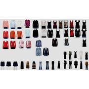 Women Casual Clothing 3d model