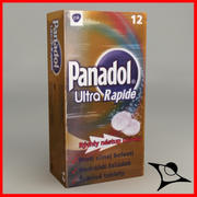Panadol Rapide Box 3d model