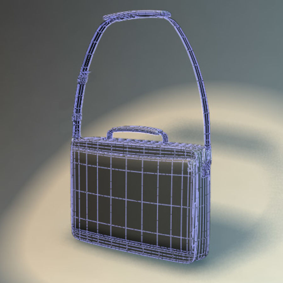 Laptop Bag royalty-free 3d model - Preview no. 1