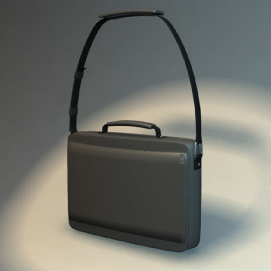 Laptop Bag royalty-free 3d model - Preview no. 2