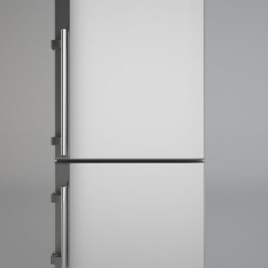 Refrigerator Liebherr royalty-free 3d model - Preview no. 1