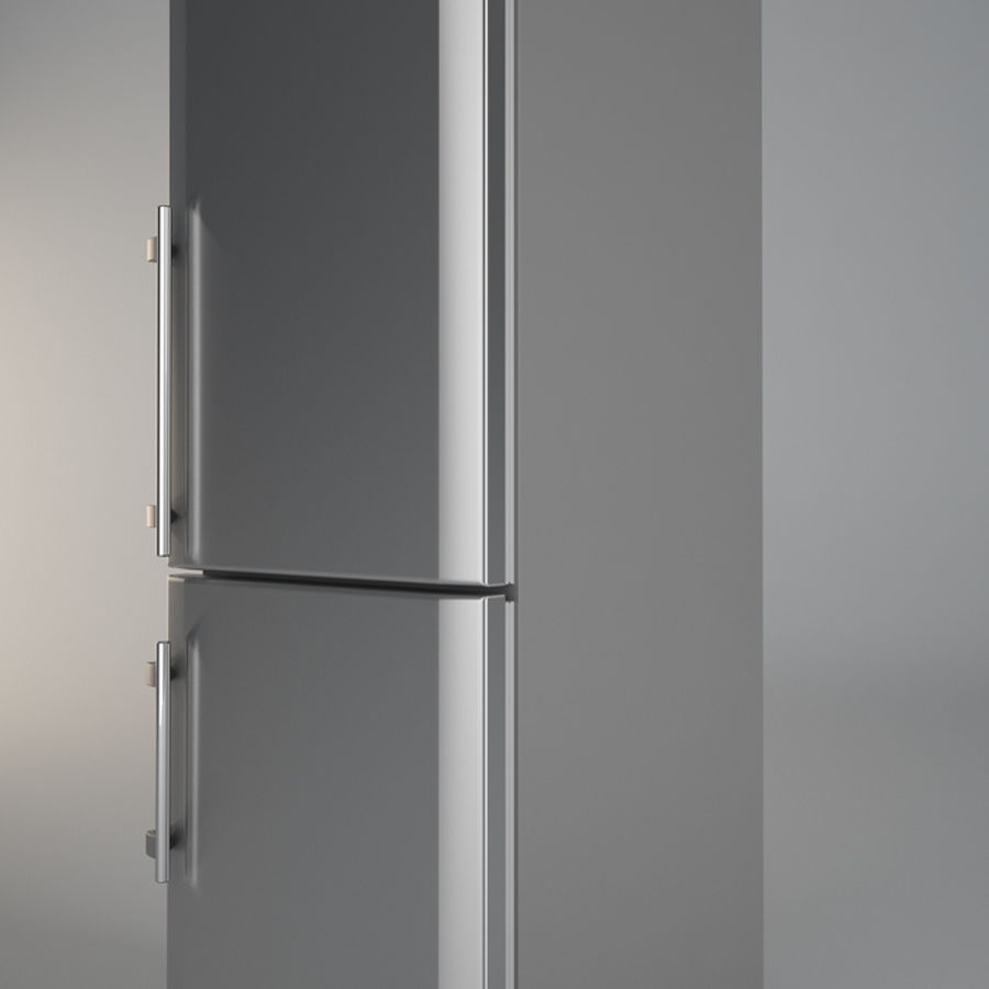 Refrigerator Liebherr royalty-free 3d model - Preview no. 5