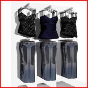 Women Casual Clothing 2 3d model