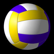 volleyboll 3d model