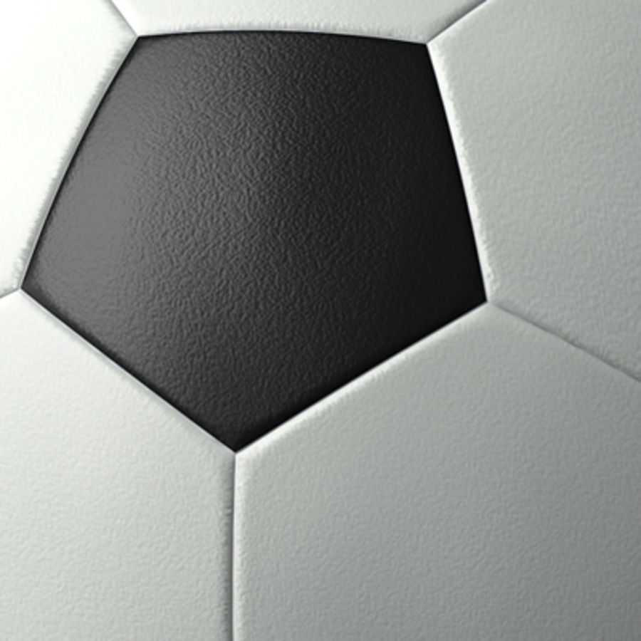 ball soccer royalty-free 3d model - Preview no. 2
