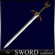 Sword of Darkness -  Schwert der Dunkelheit ! 3d model