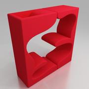 panton living tower 3d model