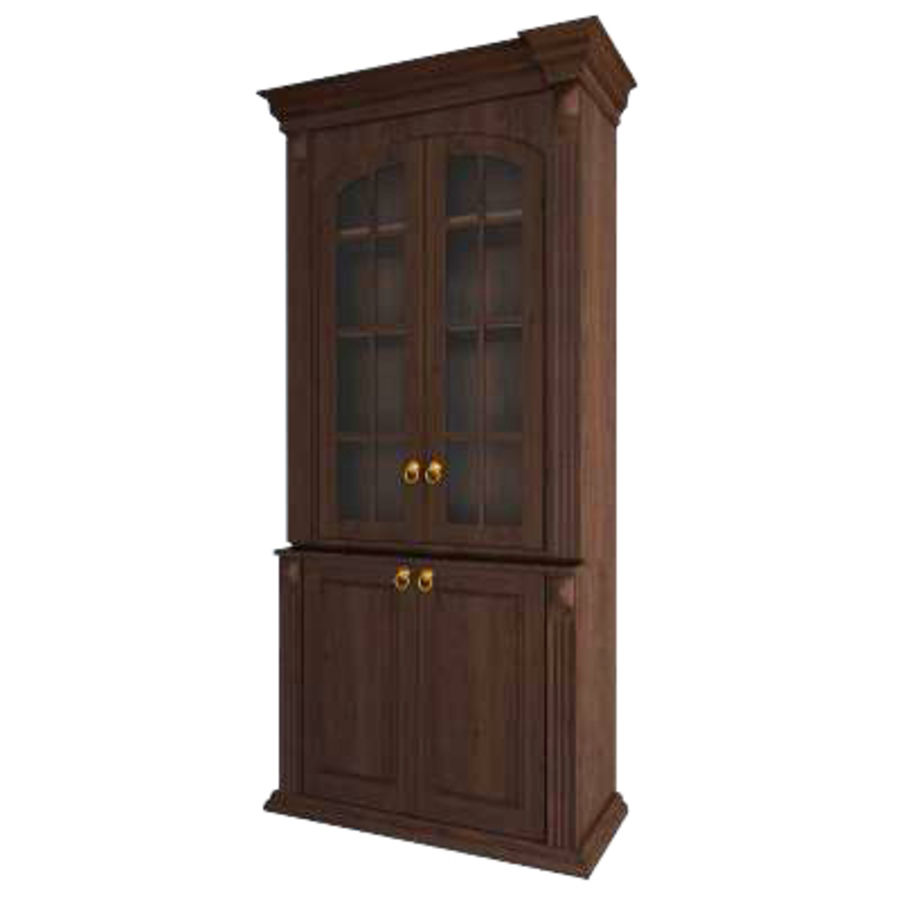 Classic cabinet royalty-free 3d model - Preview no. 1