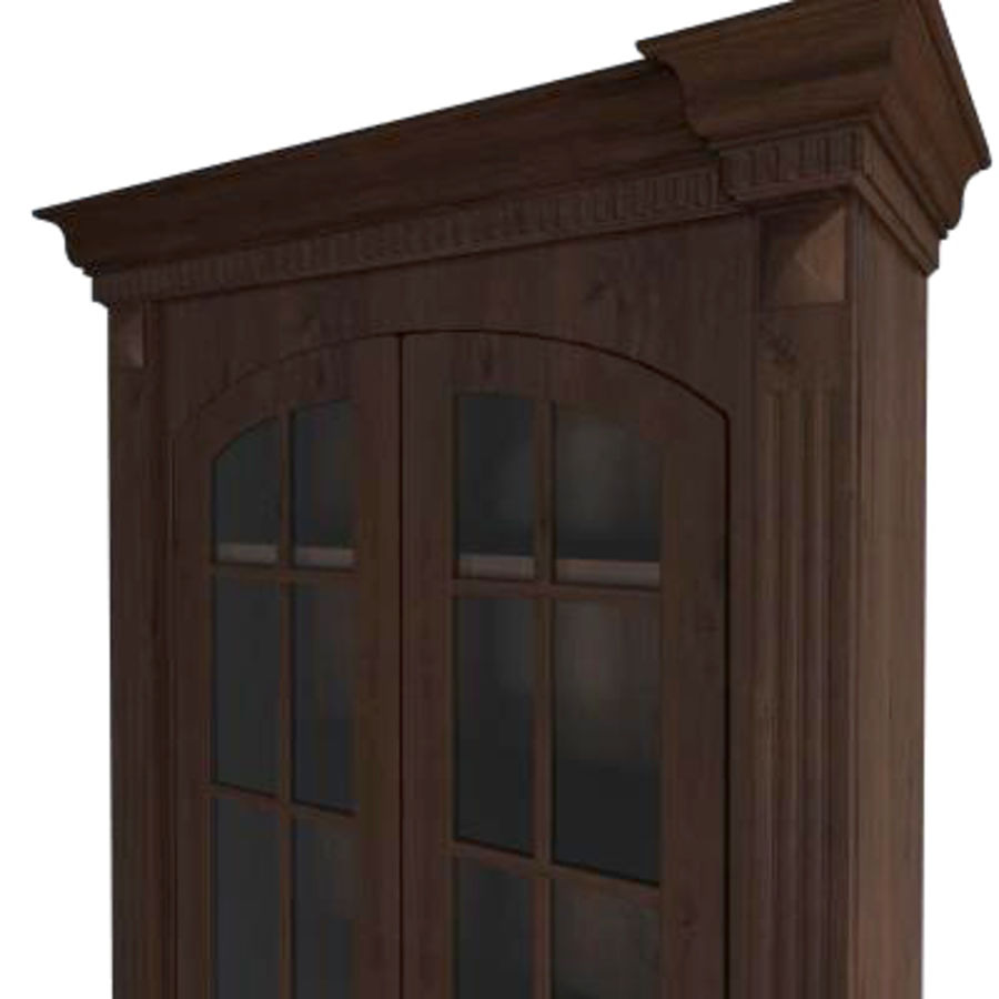 Classic cabinet royalty-free 3d model - Preview no. 3