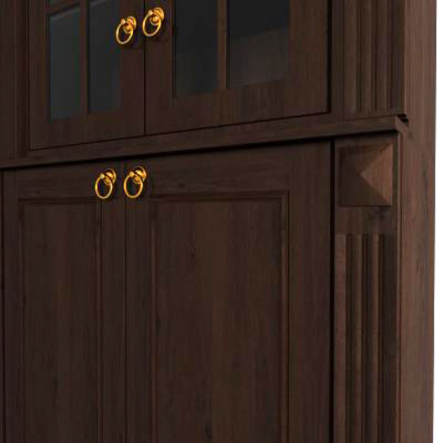 Classic cabinet royalty-free 3d model - Preview no. 2