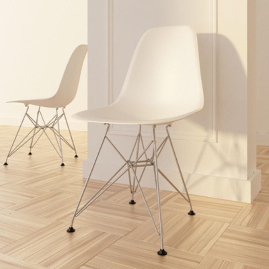 eames plastic side chair dsr max rar 3d model 25 obj max fbx