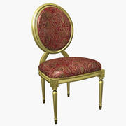 Louis XV Chair 3d model