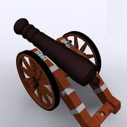cannone storico 3d model
