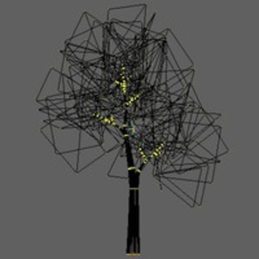 Tree model # 9 royalty-free 3d model - Preview no. 4