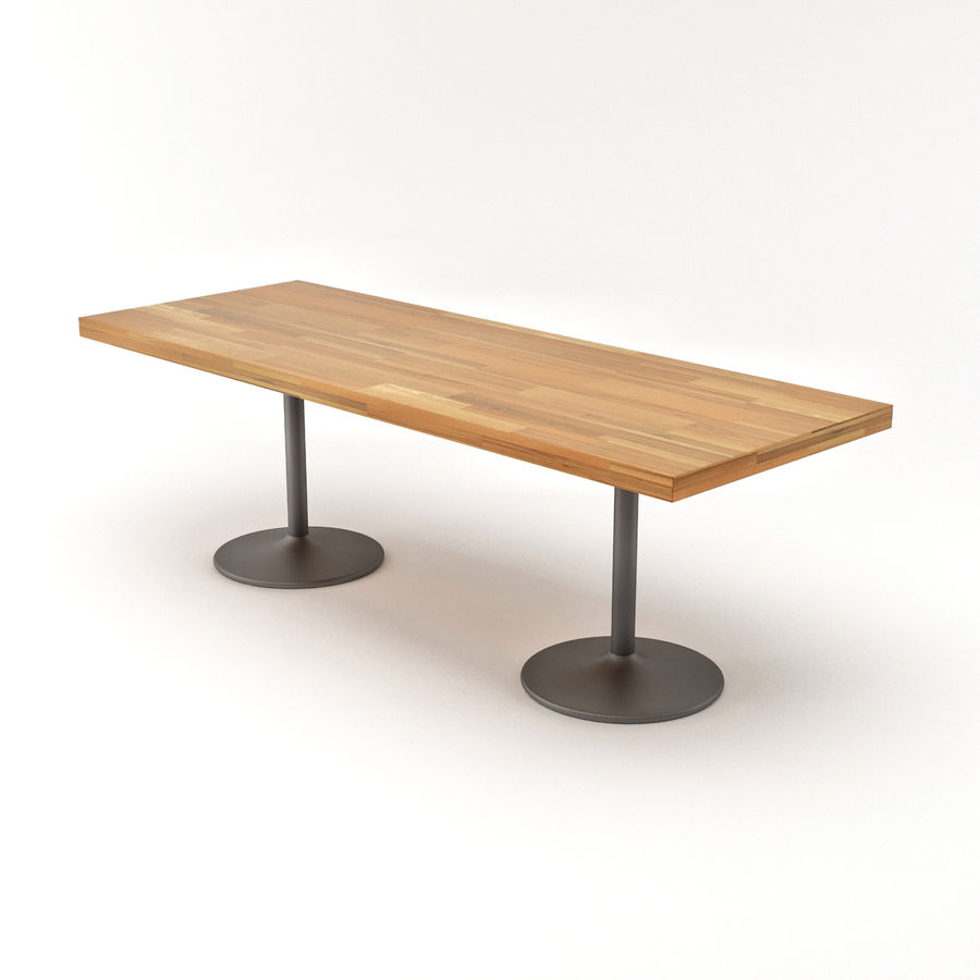 LC 11 Table royalty-free 3d model - Preview no. 6