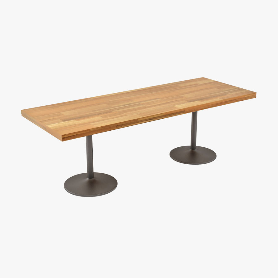 LC 11 Table royalty-free 3d model - Preview no. 1