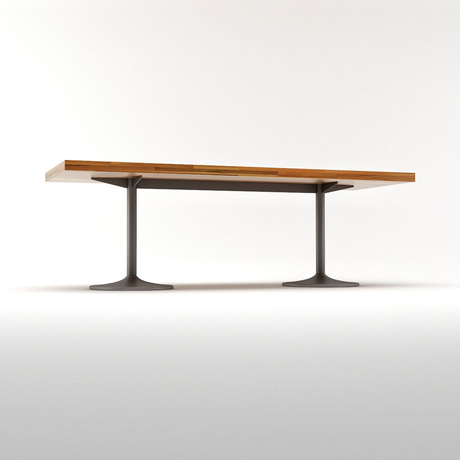 LC 11 Table royalty-free 3d model - Preview no. 5