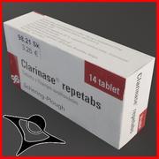 Clarinase Box 3d model