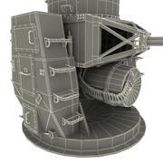 CIWS Phalanx Mk 15 3d model