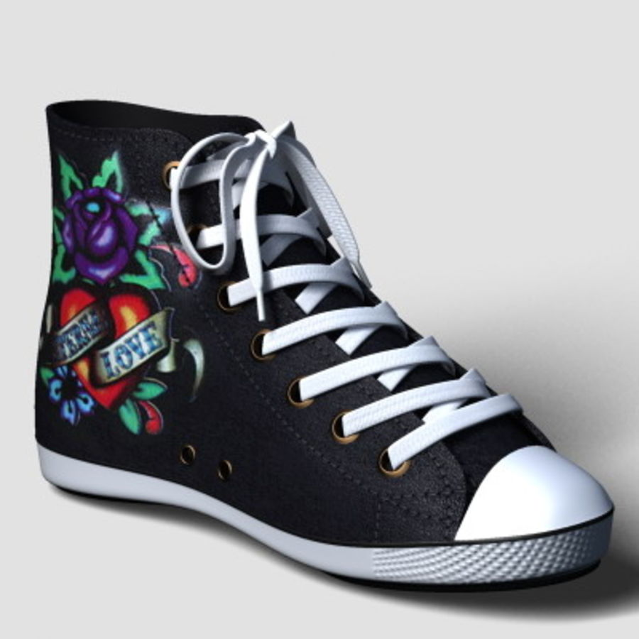 Shanghai_Shoe_01.zip royalty-free 3d model - Preview no. 9