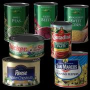 BC Canned Food 3d model