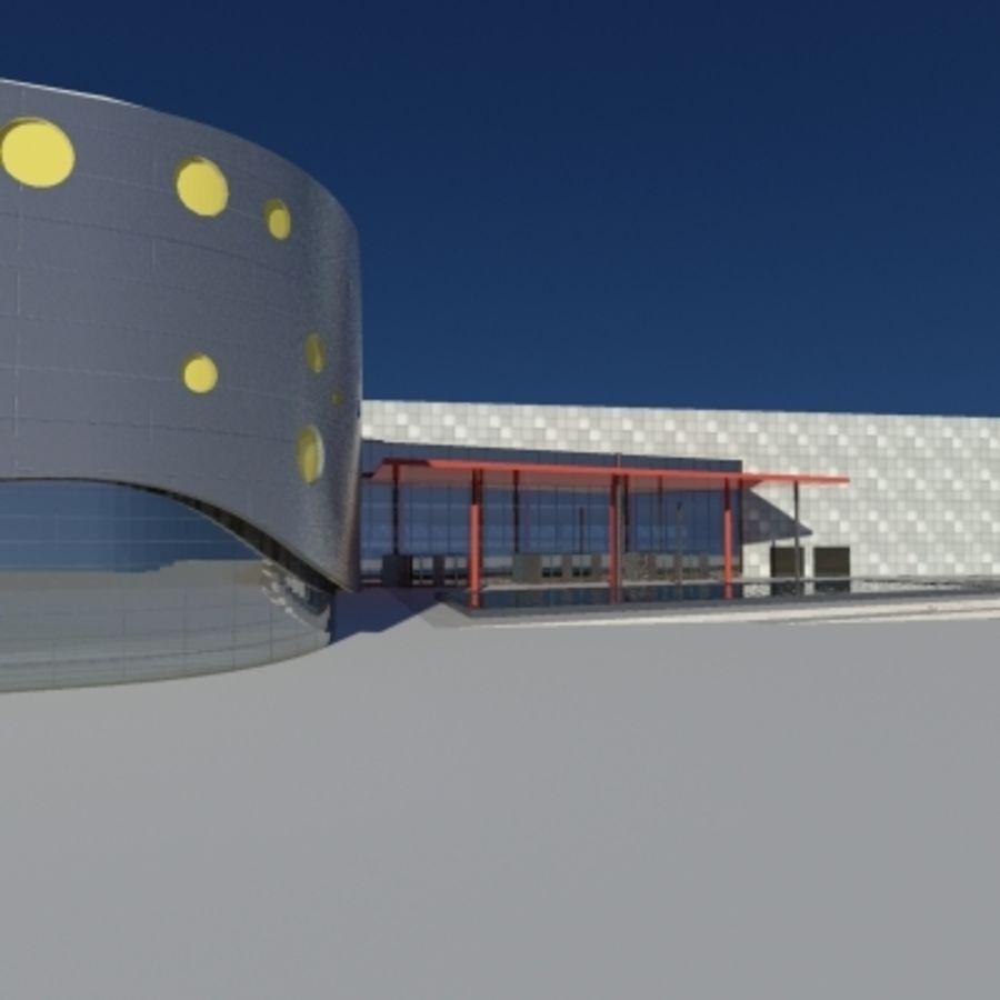 Торговый центр royalty-free 3d model - Preview no. 4