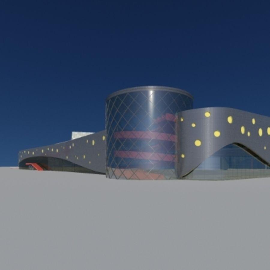 Торговый центр royalty-free 3d model - Preview no. 1