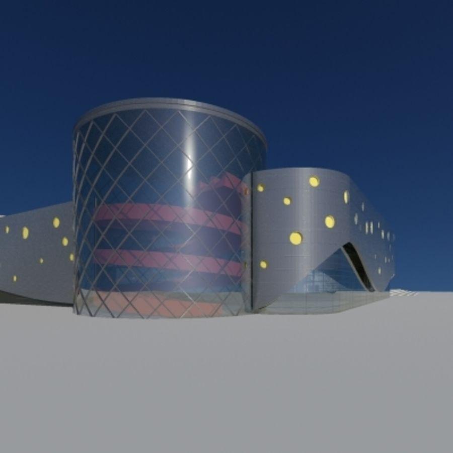Торговый центр royalty-free 3d model - Preview no. 3