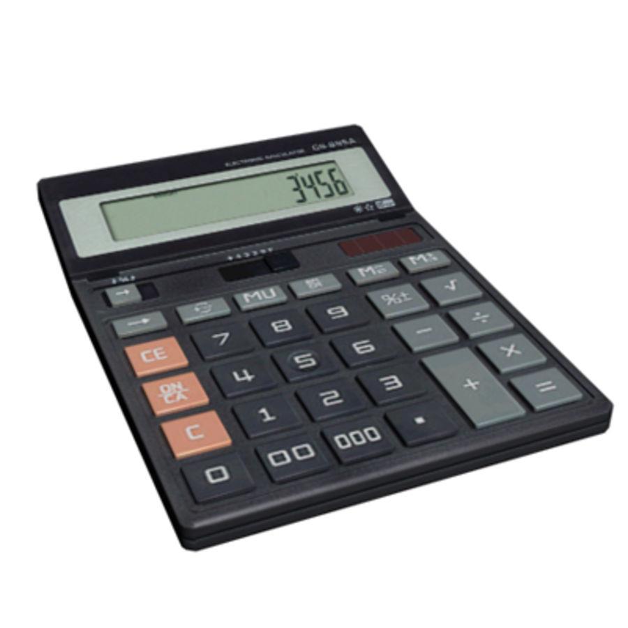 Calculator Casio Cs 895a 3d Model 2 Obj Max Free3d Royalty Free Preview No 1