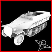 Panzerspahwagen 3d model
