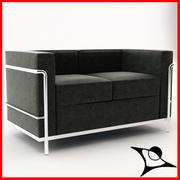 Le Corbusier LC2 / 2 3d model