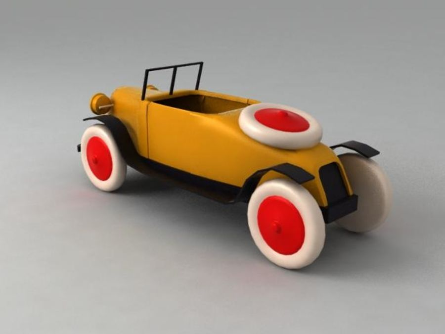 Toy car royalty-free 3d model - Preview no. 2