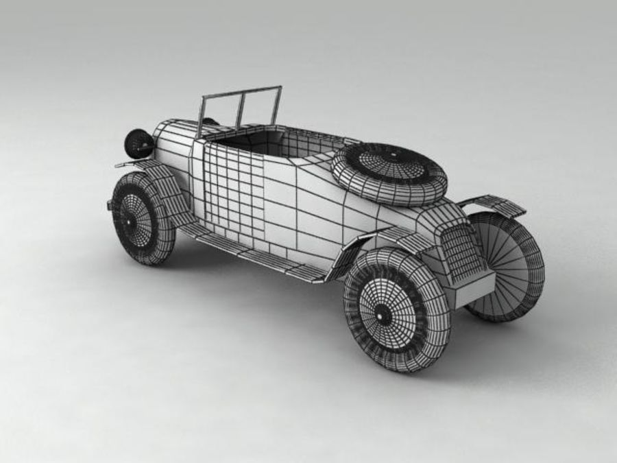 Toy car royalty-free 3d model - Preview no. 5