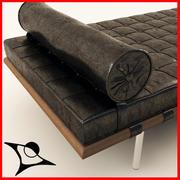 Barcelona Bed 3d model