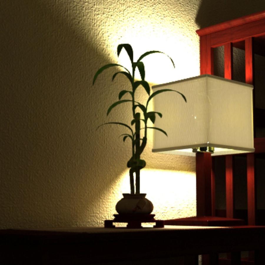 Planta de bambu royalty-free 3d model - Preview no. 7