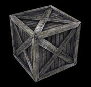 Crate with Parachute 3d model