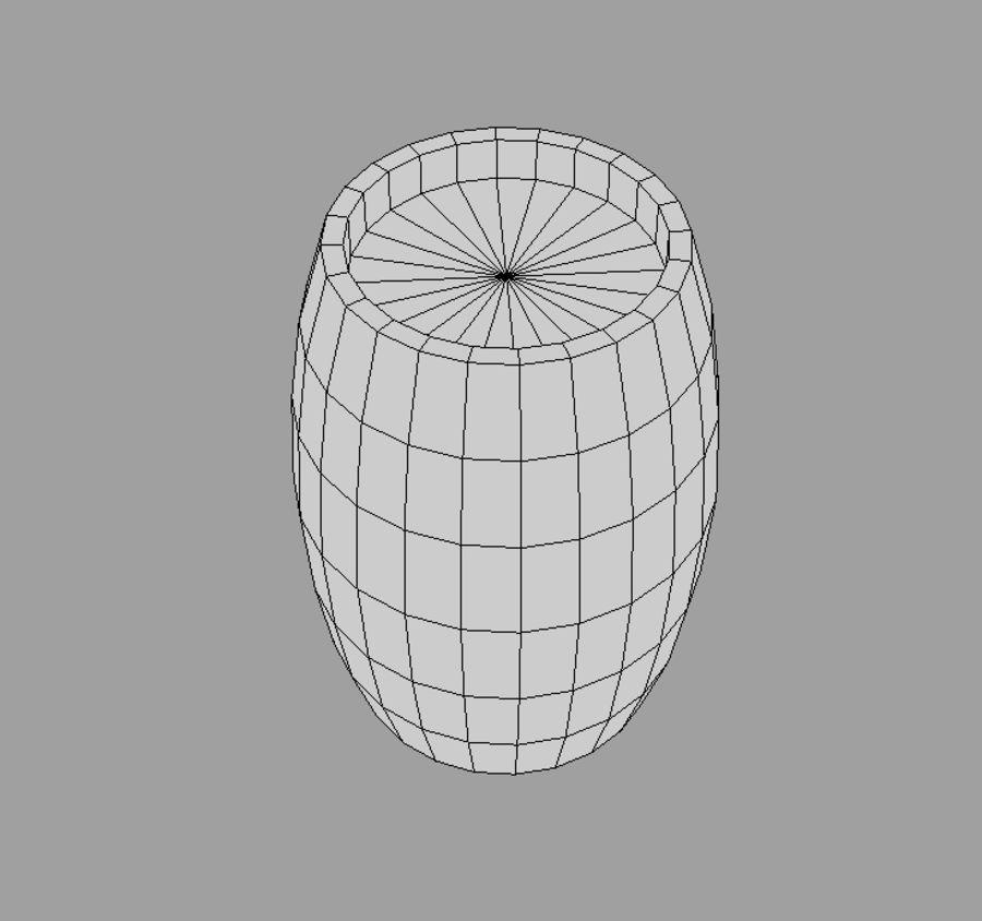 Barrel royalty-free 3d model - Preview no. 5