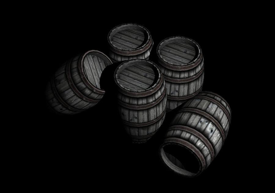 Barrel royalty-free 3d model - Preview no. 1