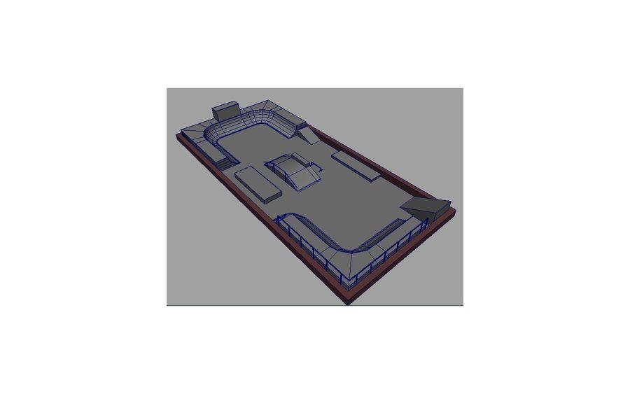 Скейт-парк royalty-free 3d model - Preview no. 16