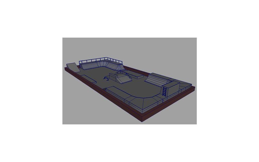 Скейт-парк royalty-free 3d model - Preview no. 15
