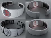 概念手表 3d model