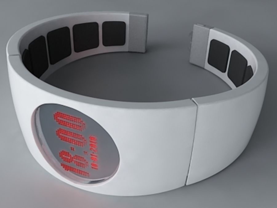 Concept Watch royalty-free 3d model - Preview no. 2