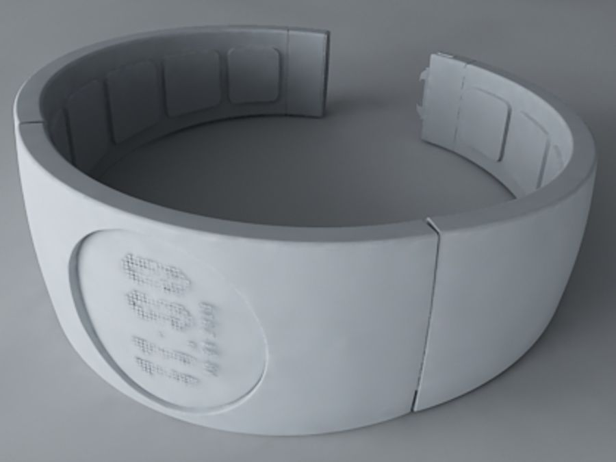 Concept Watch royalty-free 3d model - Preview no. 4