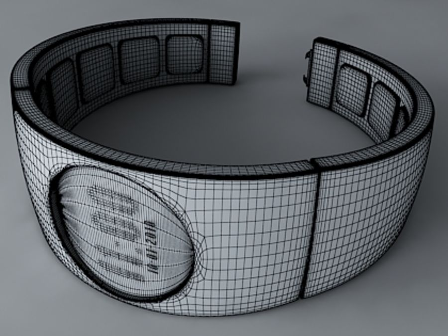 Concept Watch royalty-free 3d model - Preview no. 3