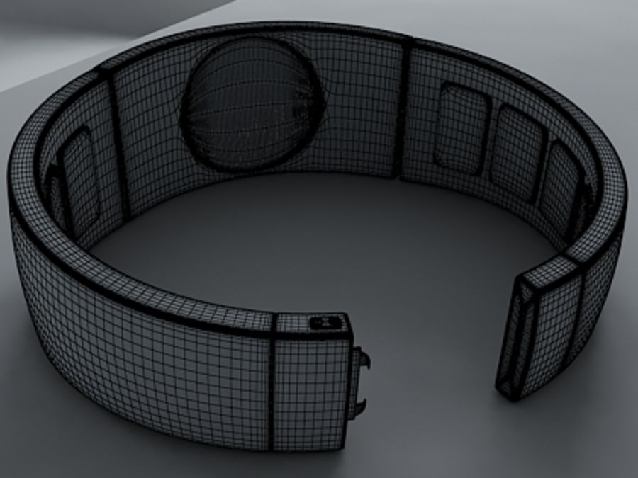 Concept Watch royalty-free 3d model - Preview no. 5