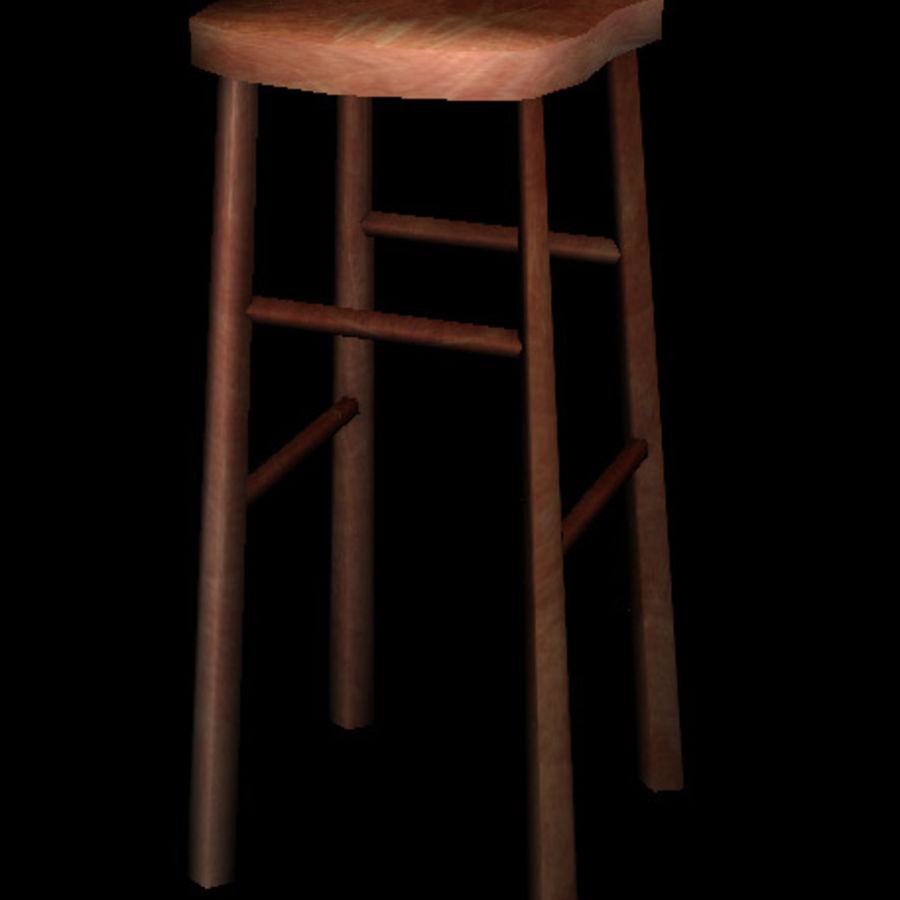 Tabouret De Country Modèle Chaise Table 3d15unknownobj SzpUVM